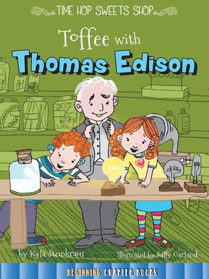 cover image of Toffee with Thomas Edison
