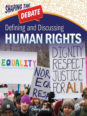 cover image of Defining and Discussing Human Rights