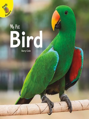cover image of My Pet Bird