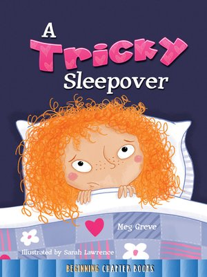 cover image of A Tricky Sleepover