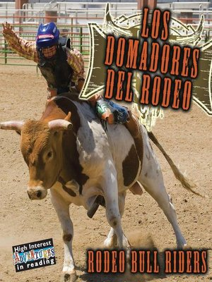 cover image of Los domadores del rodeo (Rodeo Bull Riders)