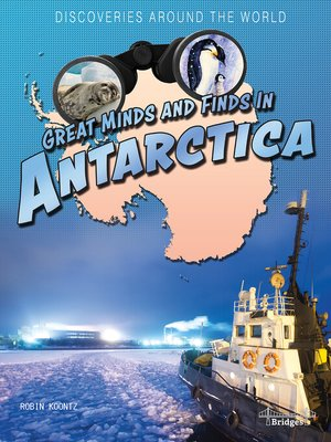 cover image of Great Minds and Finds in Antarctica