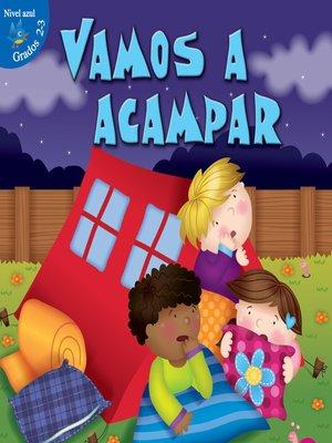 cover image of Vamos a acampar