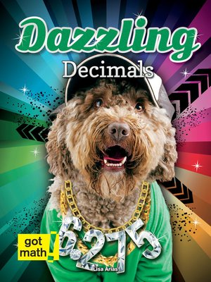 cover image of Dazzling Decimals