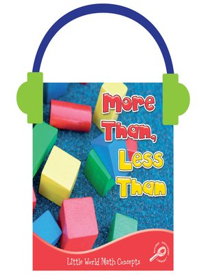 cover image of More Than, Less Than