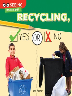 cover image of Recycling, Yes or No