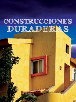 cover image of Construcciones duraderas (Built to Last)