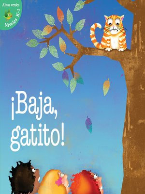 cover image of ¡Baja, gatito!