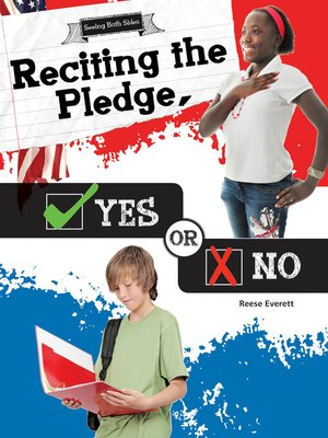 cover image of Reciting the Pledge, Yes or No