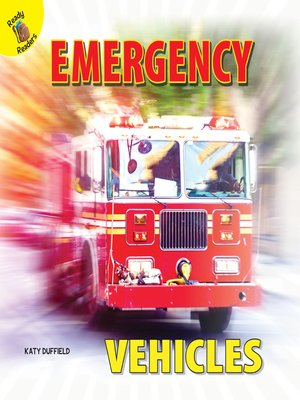 cover image of Emergency Vehicles