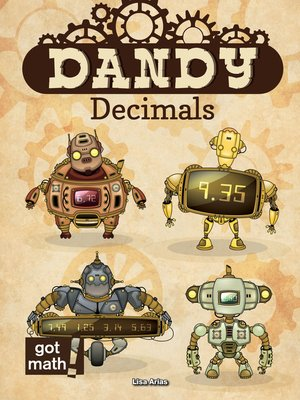 cover image of Dandy Decimals
