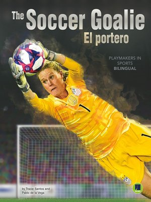 cover image of The Soccer Goalie