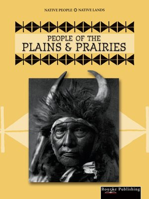 cover image of People of the Plains and Prairies