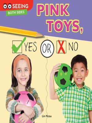 cover image of Pink Toys, Yes or No