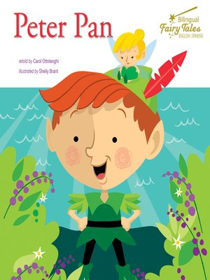 cover image of Bilingual Fairy Tales Peter Pan, Grades 1 - 3