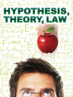 cover image of Hypothesis, Theory, Law