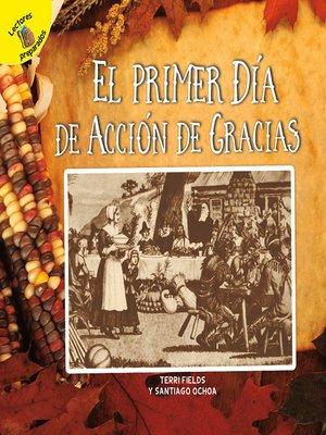 cover image of El primer Día de Acción de Gracias