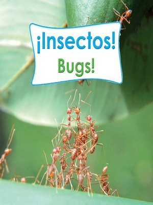 cover image of ¡Insectos! (Bugs!)
