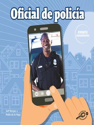 cover image of Oficial de policía