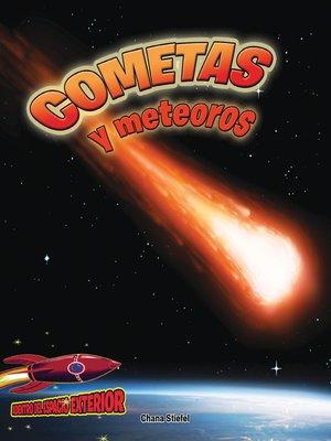 cover image of Cometas y meteoros