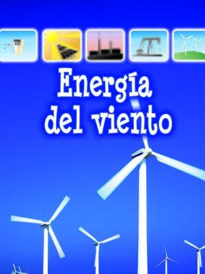 cover image of Energía del viento