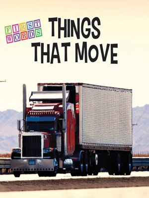cover image of Things That Move