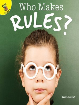 cover image of Who Makes Rules?