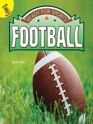 cover image of Ready for Sports Football, Grades PK - 2