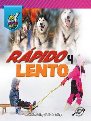 cover image of Rápido y lento