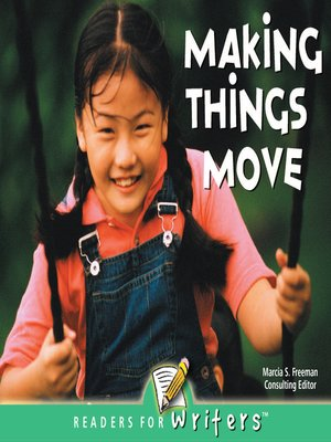 cover image of Making Things Move
