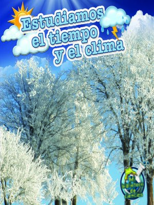 cover image of Estudiamos el tiempo y el clima