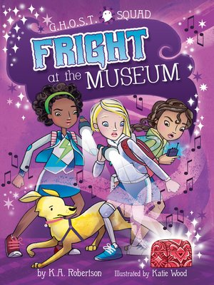 cover image of Fright at the Museum