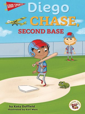 cover image of Diego Chase, Second Base