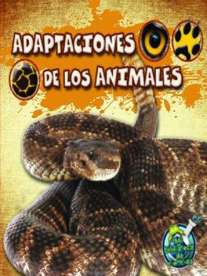 cover image of Adaptaciones de los animales
