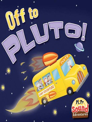 cover image of Off to Pluto!