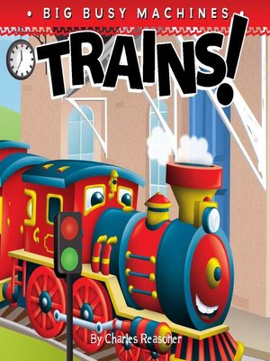 cover image of Trains!