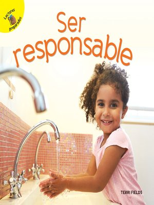 cover image of Ser responsable, Grades PK - 2