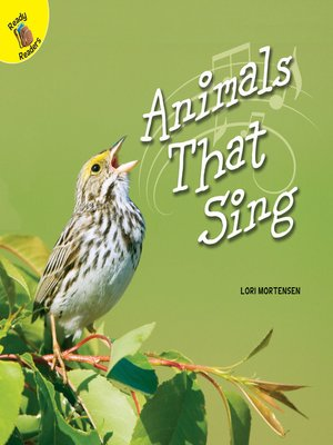 cover image of Animals That Sing