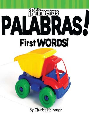 cover image of ¡Primeras palabras! (First Words)