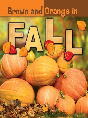 cover image of Brown and Orange in Fall
