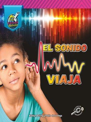 cover image of El sonido viaja
