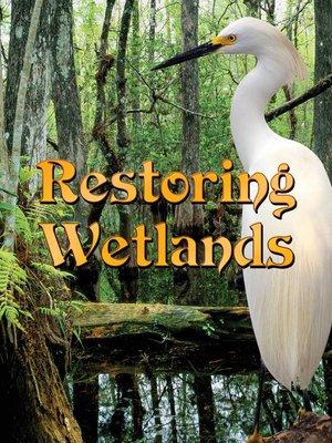 cover image of Restoring Wetlands