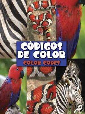 cover image of Códigos de color (Color Codes)