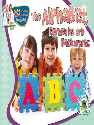 cover image of The Alphabet Forwards and Backwards