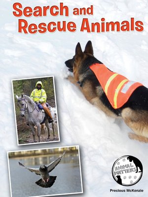 cover image of Search and Rescue Animals