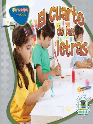 cover image of El cuarto de las letras (Deck the Room)