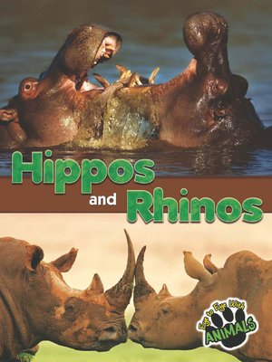 cover image of Hippos and Rhinos