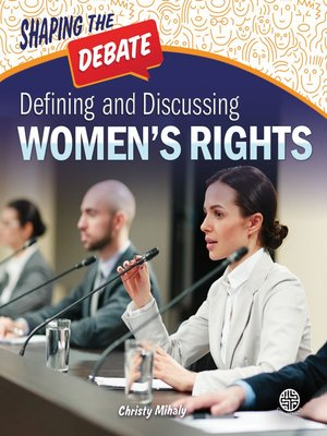 cover image of Defining and Discussing Women's Rights