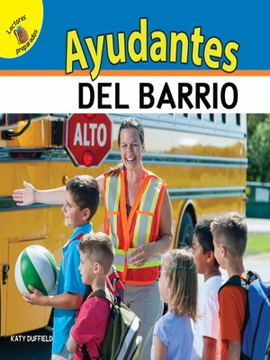 cover image of Mi Mundo (My World) Ayudantes del barrio, Grades PK - 2