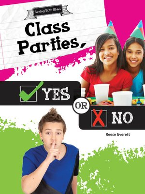 cover image of Class Parties, Yes or No
